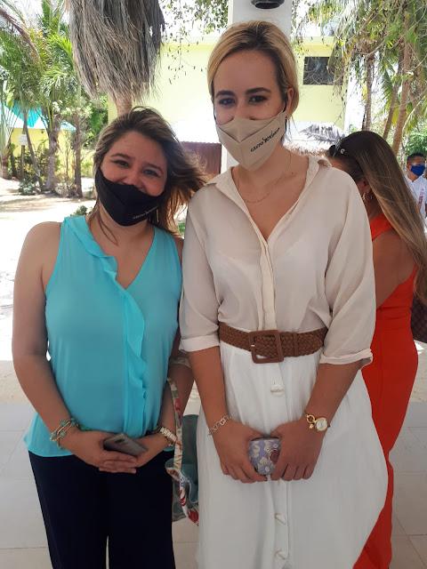Vanessa Magallanes y Pilar Paniagua.