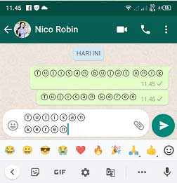 Cara Membuat huruf dalam lingkaran di android