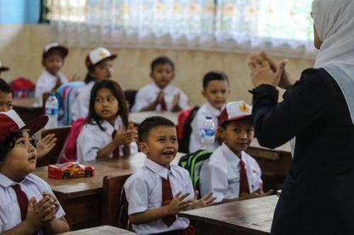 Menyiapkan Anak Masuk Sekolah Dasar