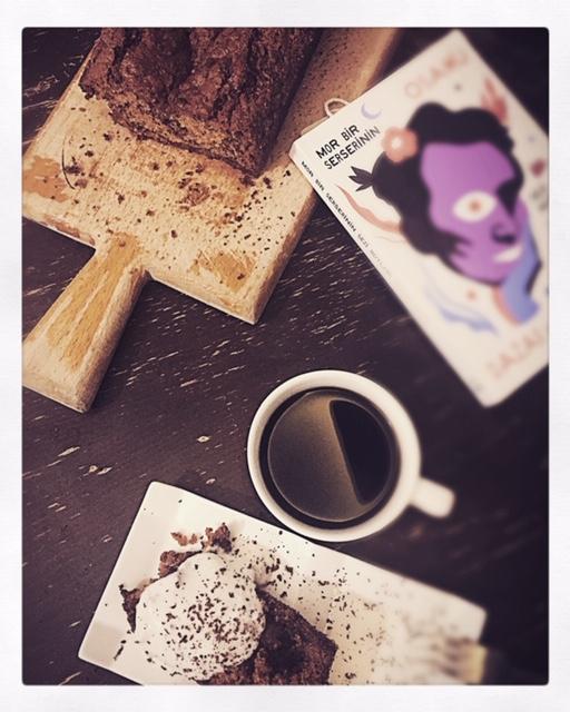 kahve kek kitap