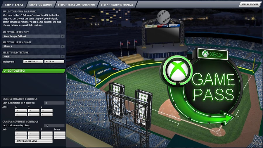 xbox game pass 2020 out of the park baseball 21 xb1