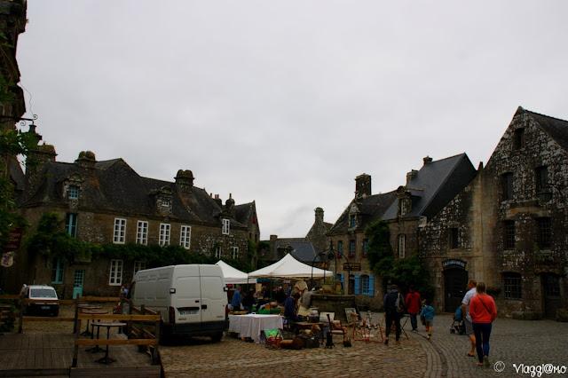 Il villaggio di Locronan è uno dei più belli di Francia