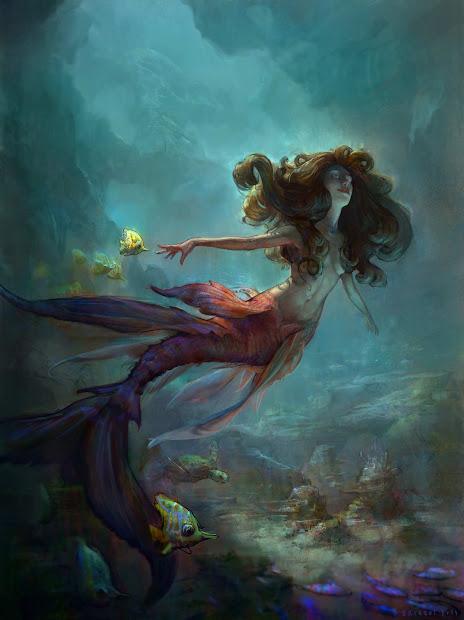 Art Admiration Mermaids Part Ii