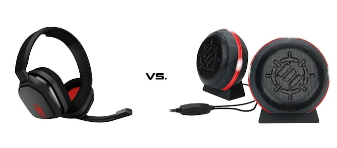 Gaming Headset vs. Gaming Speakers - Which Is Better?