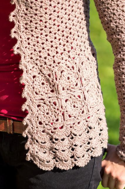 diy crochet cardigan vest