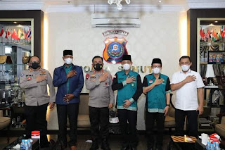 Kapolda Ajak DPP JBMI Sumut Bekerjasama Jaga Kerukunan Umat Beragama