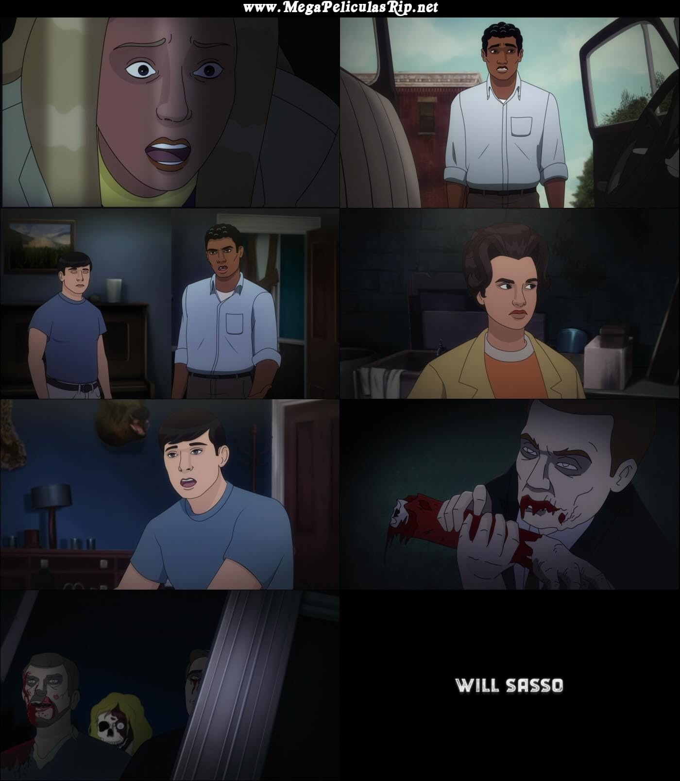 Night Of The Animated Dead 1080p Latino
