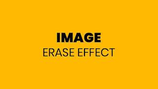 Image Erase Animation
