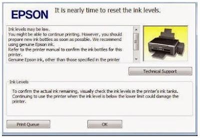 Cara Reset Printer Epson L Series Secara Manual Tanpa Software