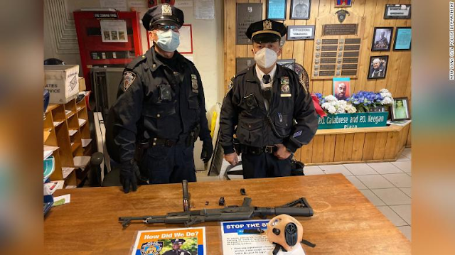 Ohio teen arrested with AK-47 in Times Square subway station, police say
