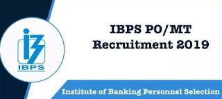 IBPS 4336 PO/MT Recruitment 2019