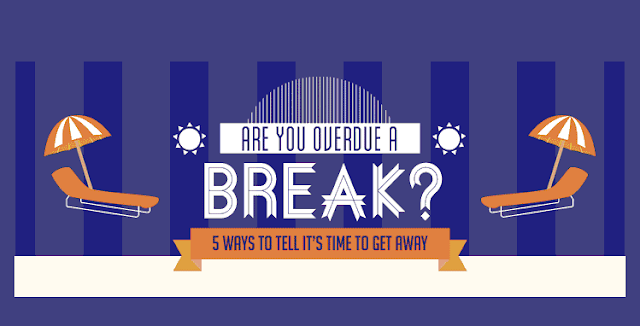 5-Ways-To-Tell-It's-Time-To-Get-Away #Infographic