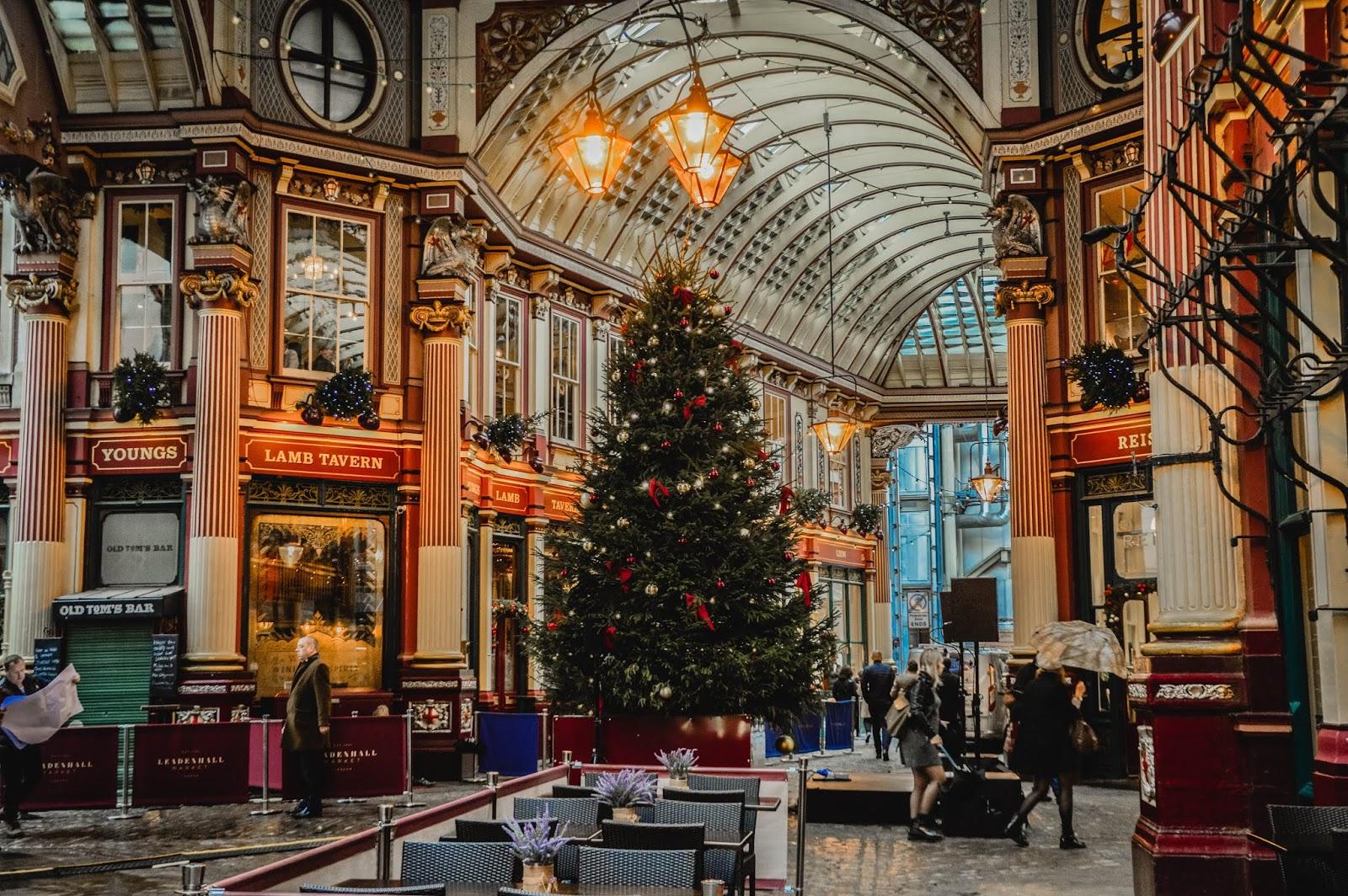 Savourer de la magie de Noël à Londres lafianceedelarbre
