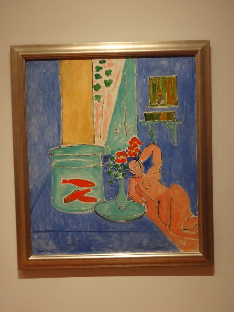 henri matisse goldfish and sculpture