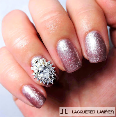 Simply Sparkly Nails