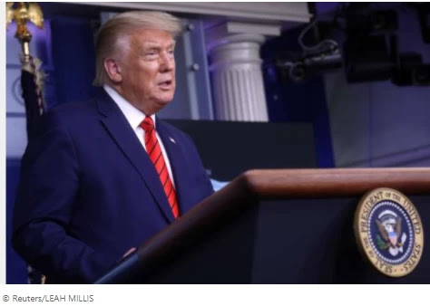 Defending Kenosha Gunman, Trump said his life was in danger