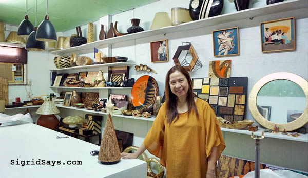 Josephine Locsin - Tumandok Crafts Industries - #PleaseSaveMe - finances - fire - fire insurance - insurance money - Philippine handicraft - resin laminated houseware - Association of Negros Producers - Negros Showroom - hand painted - artisanal products - natural materials - Bacolod blogger - #PlsSaveMe