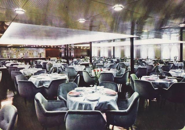 EUGENIO C. Tourist Class B Dining Room