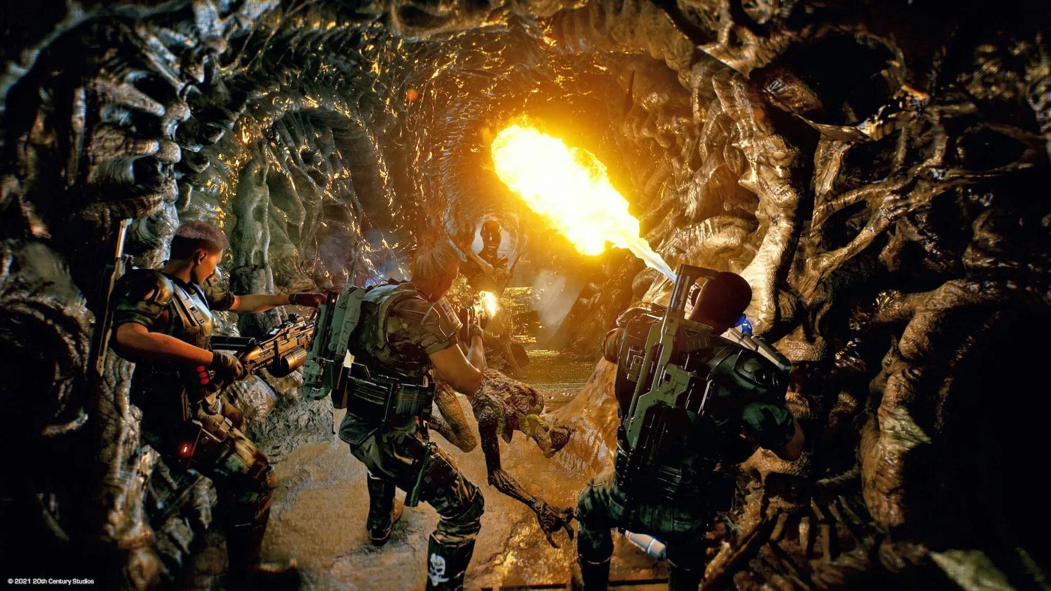 Aliens: Fireteam Gameplay