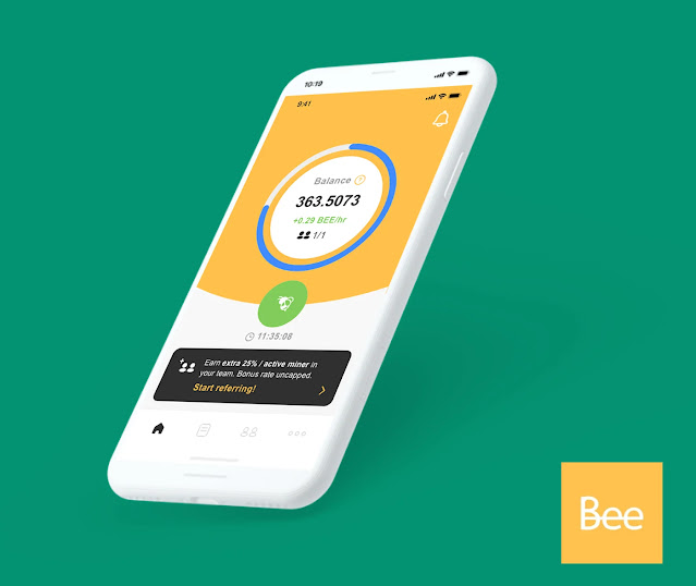 تحميل تطبيق بي Bee Network  APK لتعدين العملات للاندرويد و الايفون