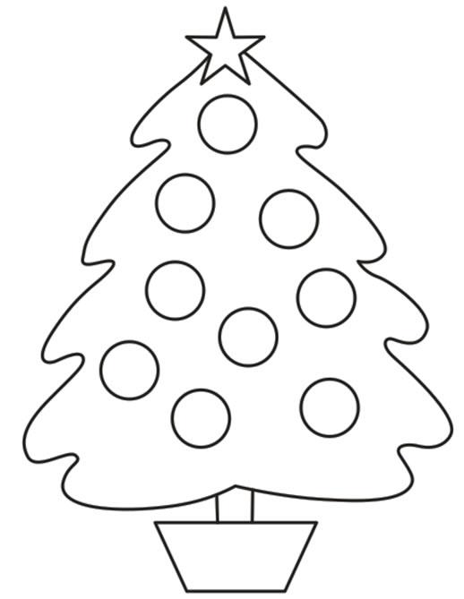 Imagenes De Arboles De Navidad Para Colorear