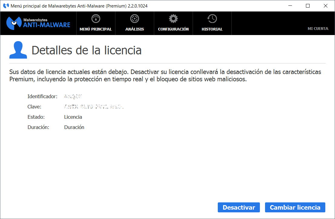 Key id malwarebytes anti malware