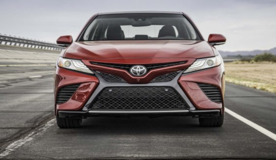 All New 2019 Toyota Camry Model