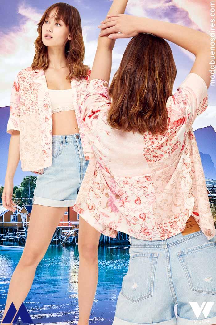 Camisas mangas cortas mujer verano 2022