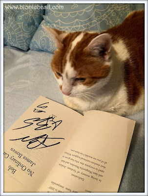 Amber's Signed Copy of Bob's Book  @BionicBasil® Give-Away Prize 100th Review