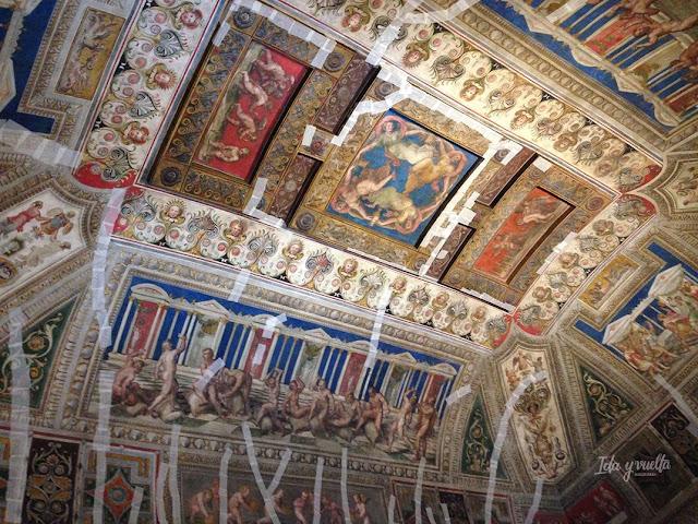 Castello Estense techo