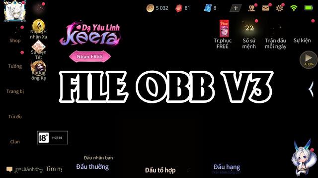File OBB V3 Tối Ưu Hoá Siêu Mượt Hỗ Trợ Map Trong Suốt Full Mid | HQT CHANNEL