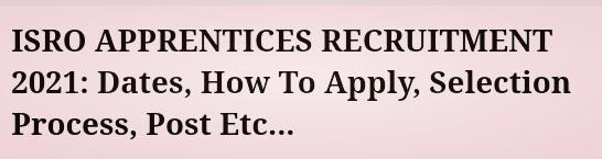 Apply Online 43 Graduate, Technician Apprentices...
