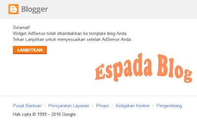 Cara Mendaftarkan Blog Ke Google Adsense 20