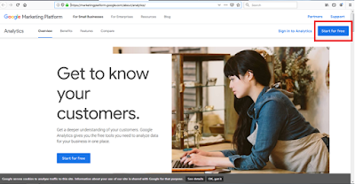 Cara Mendaftarkan Blogspot Anda di Google Analytics dan Memasang ID Pelacakan Situs Pada Blogspot Anda