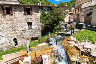 Borgo di Rasiglia,citta' delle acque e delle sorgenti