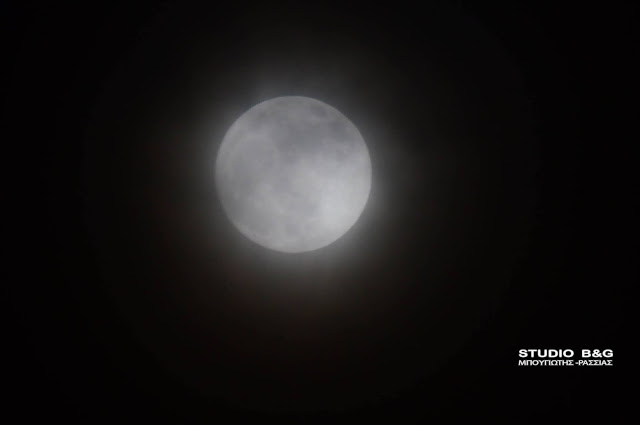 Η πανσέληνος πάνω από το χειμωνιάτικο Ναύπλιο - Πιο φαινόμενο θα συμβεί την Δευτέρα