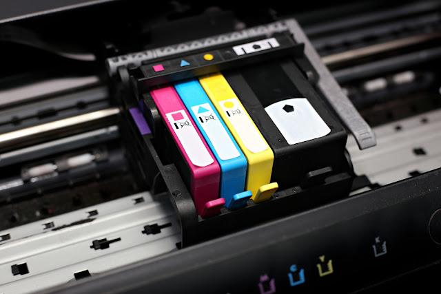 benodigdheden, printer, inktpatronen, toner, cartridges