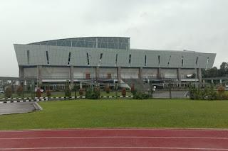 Megahnya Mimika Sport Complex, pic credit by kompas