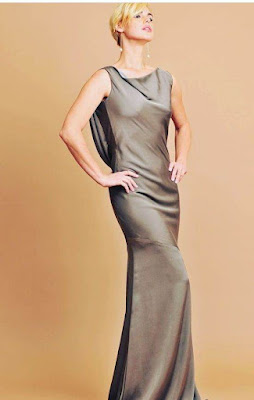Latest cowl Neck Dress for ladies