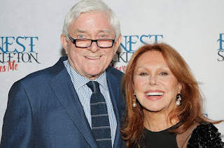 Phil Donahue with his present wife Marlo Thomas