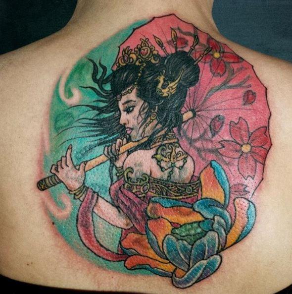 Geisha Tattoos