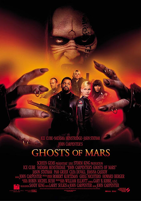 Ghosts of Mars 2001 movie poster