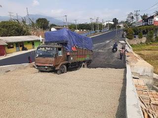 Truck Fuso Rem Blong Di FO Kretek Berhasil Selamat Berkat Adanya Jalur Penyelamat