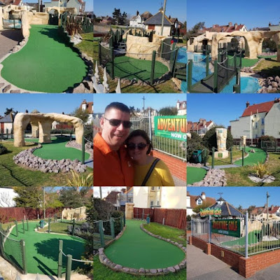 Fantasia Adventure Golf on Sea Road in Felixstowe, Suffolk