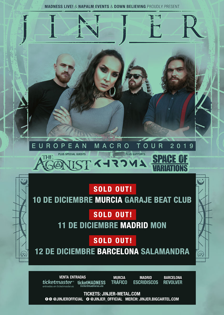 Jinjer tour sold out