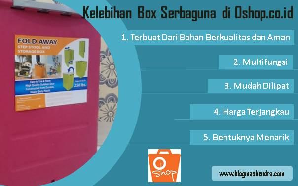 Kelebihan Box Serbaguna di Oshop - Blog Mas Hendra