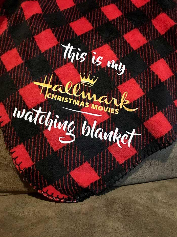 Hallmark Christmas Movie Blanket Svg File Free