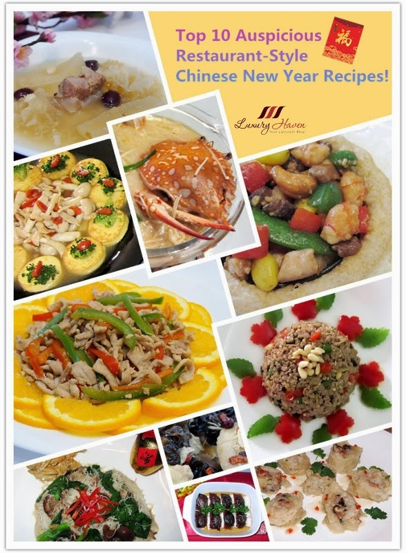 top restaurant style chinese new year recipes