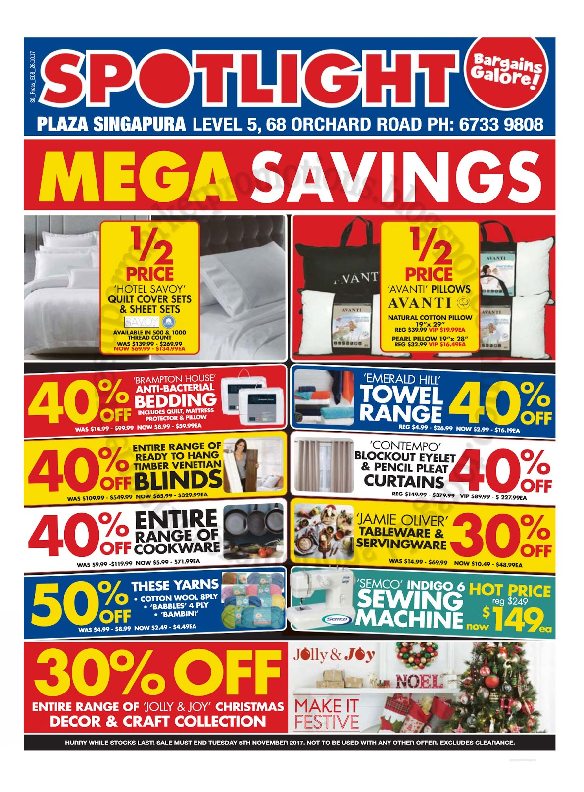 Spotlight Eyelet Curtains Spotlight Mega Savings Sale 26 October 2017 Supermarket