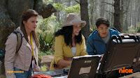 Amelia, Ollie and Dr Akana
